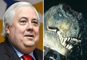 Клайв Палмер динозавры