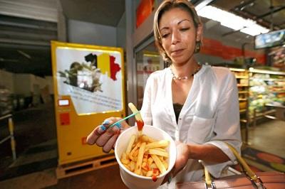 Автомат продажи картошки фри