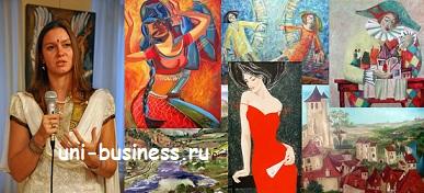 бизнес на живописи