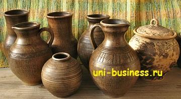 бизнес на производстве гончарных изделий