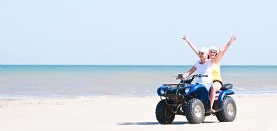 Квадроциклы на пляже - еще один вариант организации бизнеса