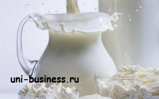 молоко бизнес