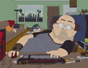 Он зарабатывает на онлайн играх :)