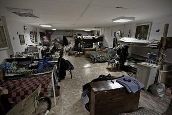 ужасное общежитие