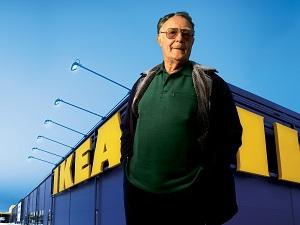 фотография Кампрада - создателя компании IKEA