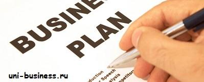 части бизнес плана