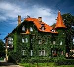 озелененный фасад дома
