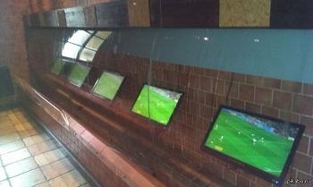 реклама в спорт баре