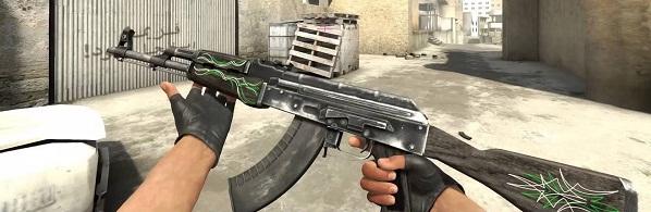 AK Изумрудные завитки