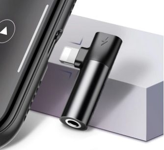 адапетр 3.5 мм для iphone