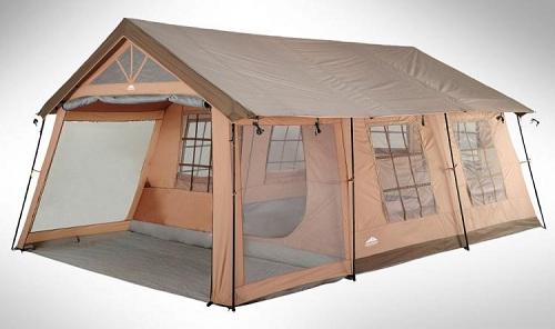большая палатка-дом