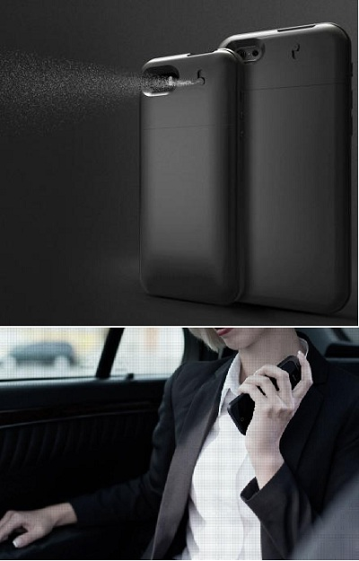 чехол-спрей для смартфона