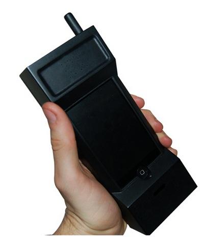 чехол в виде ретро телефона