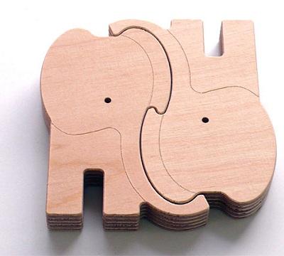 доска в фрме слоников