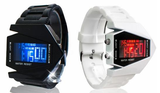 футуристические часы из будущего