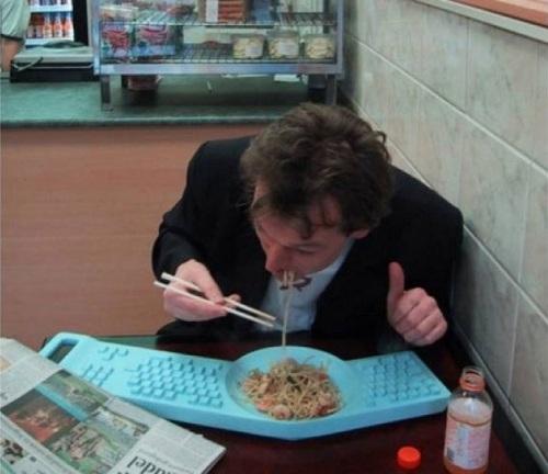 клавиатра-тарелка