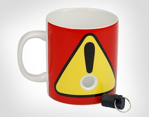 кружка для кофе с пробкой