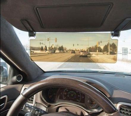 необычный солнцезащитный козырек для машины