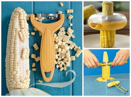 нож для очистки кукурузы