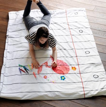 одеяло раскраска