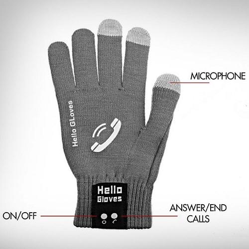 перчатки с микрофоном и динамиком