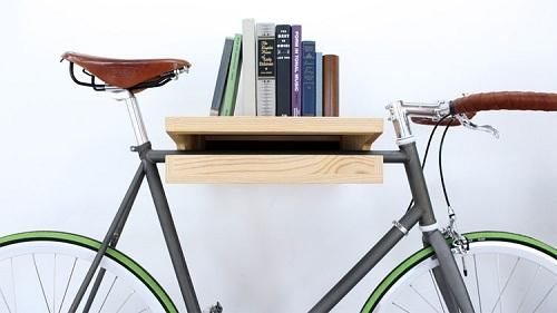 полочка для велосипеда на стену