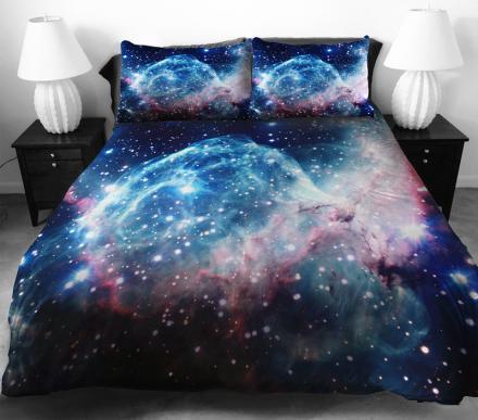 постельное белье в виде космоса