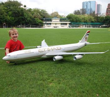 радио управляемый пассажирский самолет
