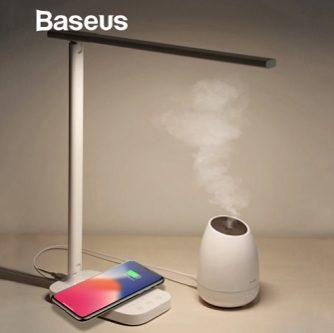 светодиодная лампа + беспроводная зарядка