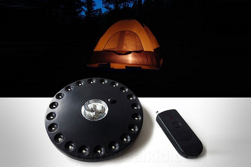 светодиодный фоарик для палатки