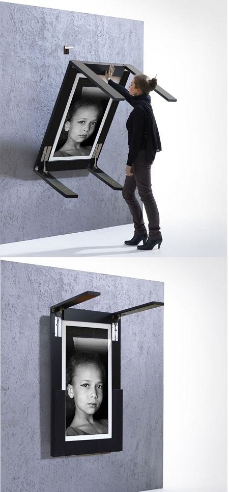 трансформирующийся стол-картина