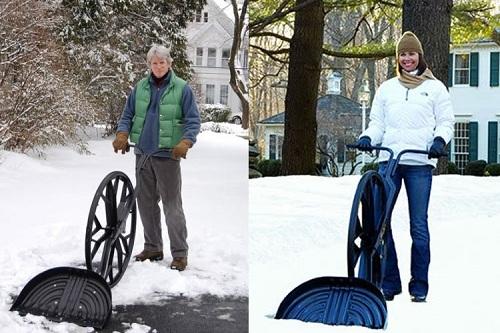 удобная лопата для уборки снега