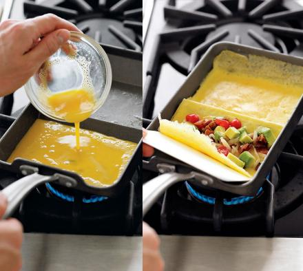 удобная сковорода для омлета
