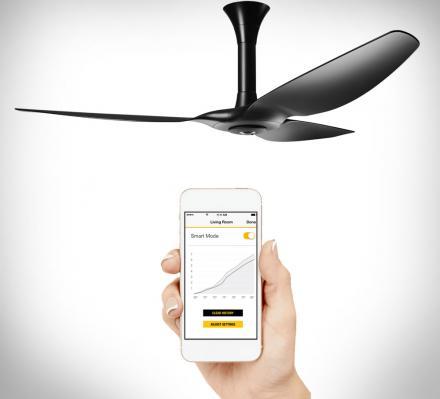 управляемый вентилятор и лампа