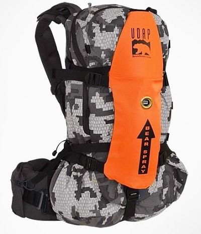 защита от медведя в рюкзаке