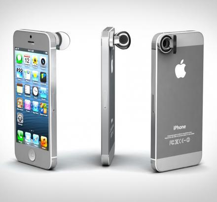 зеркальце на камеру iphone